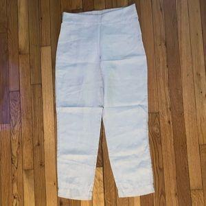 Eileen Fisher linen trousers/ pants